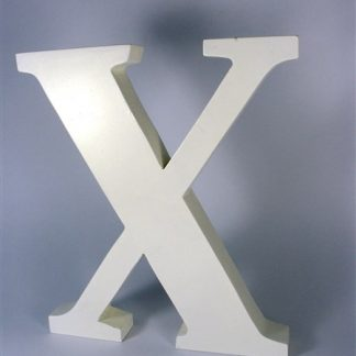 Reclame letter X