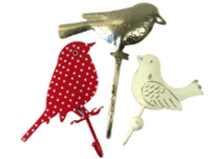 Vogels kapstok / haak