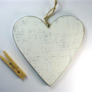 Wit houten hart