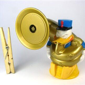 Donald Duck met trombone