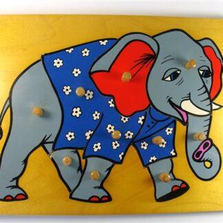 Stoere olifant