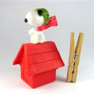 Snoopy op zijn hok
