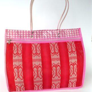 Rode kunststof tas
