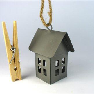 Metalen huisje