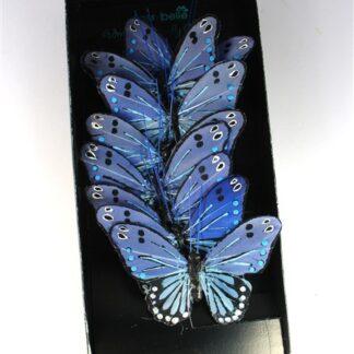 Blauwe vlinder lijn