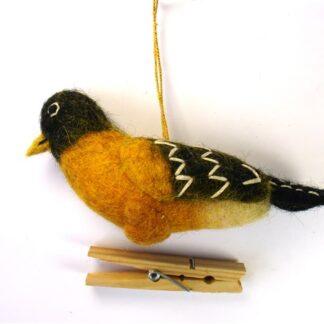 Vilten vogelhanger