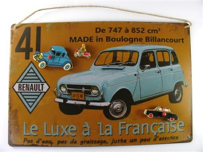 Magneetbordje met vintage auto's