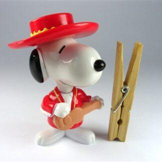 Snoopy op gitaar