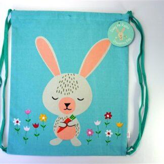 Daisy the Rabbit - drawstring bag