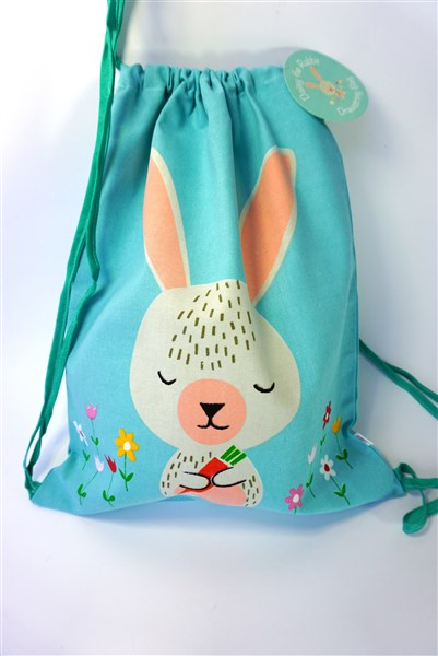 Daisy the Rabbit - drawstring bag
