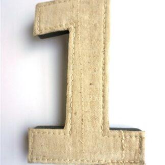 Het cijfer één