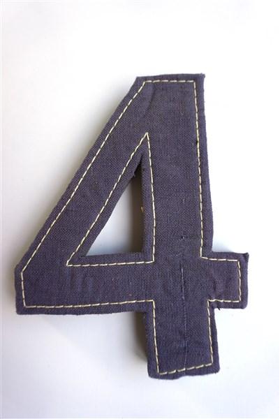 Het cijfer vier
