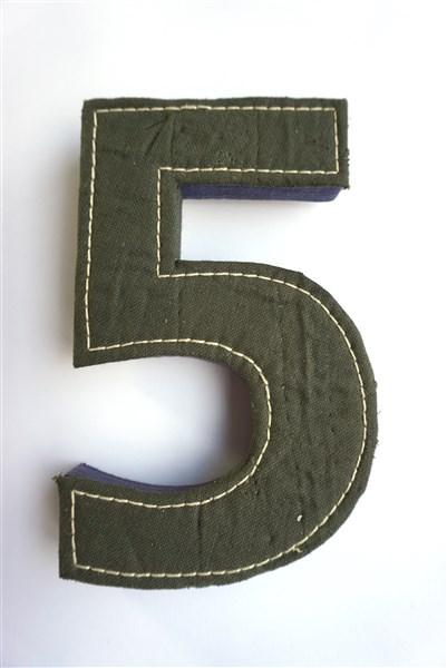 Het cijfer vijf