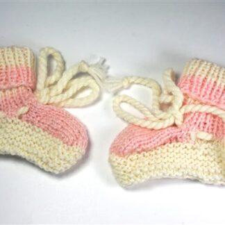 Vintage baby sokjes / baby slofjes