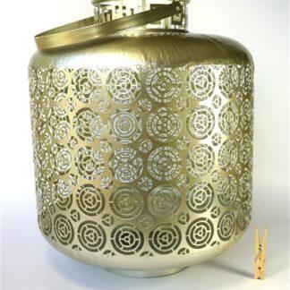 Vintage metalen lantaarn