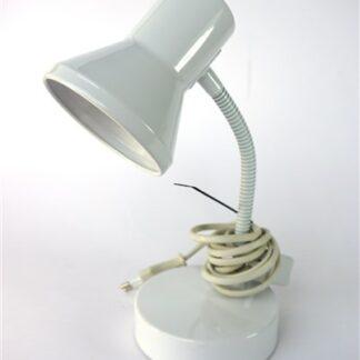 Wit klein bureau lampje