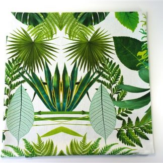 Kussenhoes groen blad