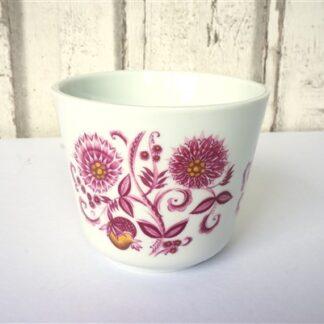 Vintage pot bloem