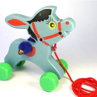 Vintage ezeltje met belletjes