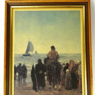 Jacob Maris - Aankomst der boten