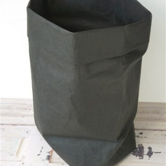 Zwarte papieren mand / zak