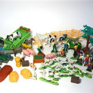 Vintage boerderij set