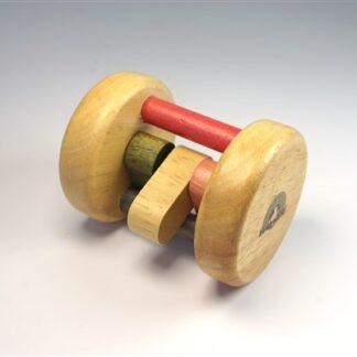 Houten rammel speeltje