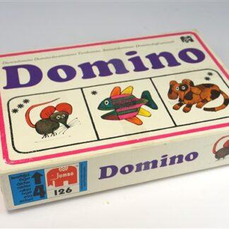 Vintage domino dieren