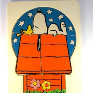 "Vintage ""Snoopy"" puzzel"