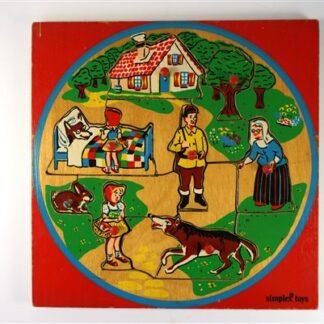 Vintage puzzel Roodkapje