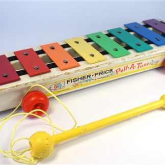 "Fisher Price ""pull-a-tune"""