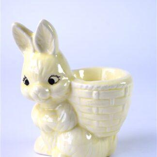 Vintage eierdop konijn