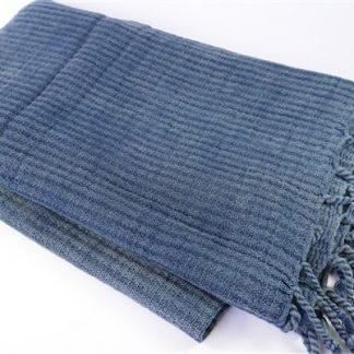 Donkerblauwe hamamdoek