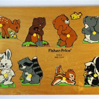 Fisher Price dierenpuzzel