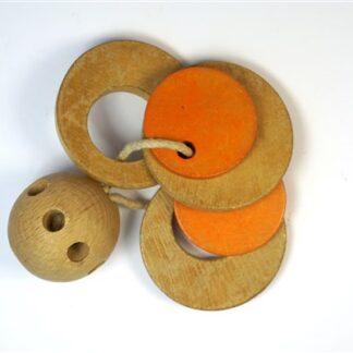 Vintage rammelaar / speelgoed