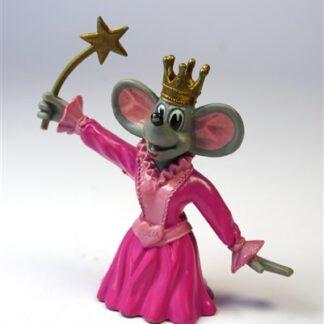 Koningin muis met toverstaf