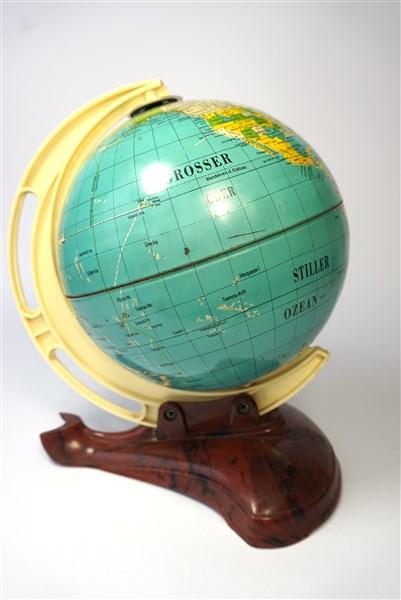 Vintage wereldbol