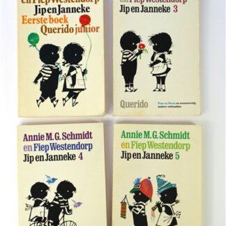 4 Jip & Janneke boekjes
