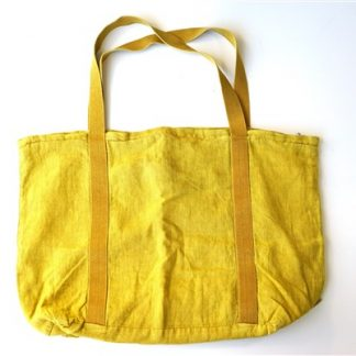 Beach Bag Mrs Bloom - geel