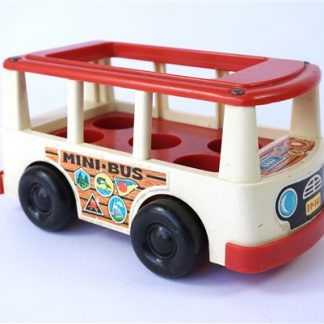 Vintage mini bus Fisher Price