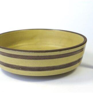 Geel / bruin vintage schaaltje