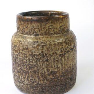 Stoere bruine vaas