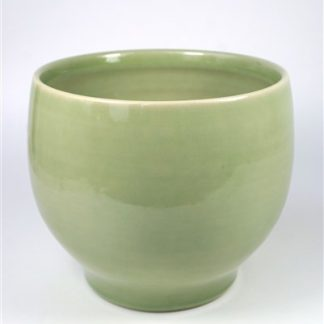 Zacht groene pot