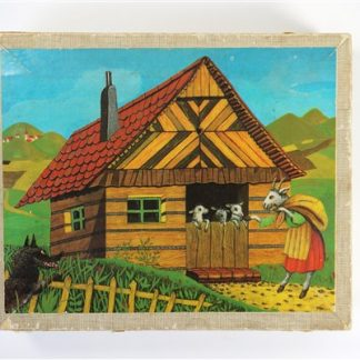 Vintage blokpuzzel
