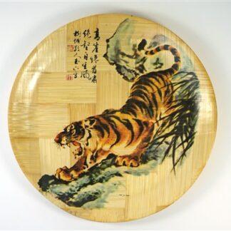 Wandbord tijger