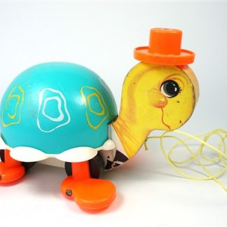 Vintage schildpad Fisher Price