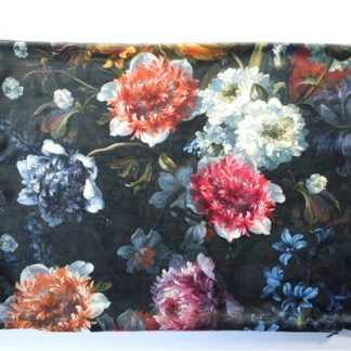 Bloemenprint velours