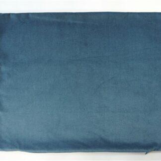 Vintage velours blauw
