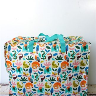 XXL-tas Jungle print