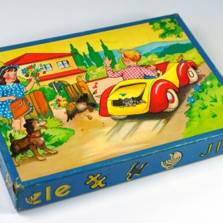 Vintage puzzeltje